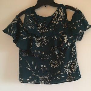 Japna cold shoulder blouse-EUC